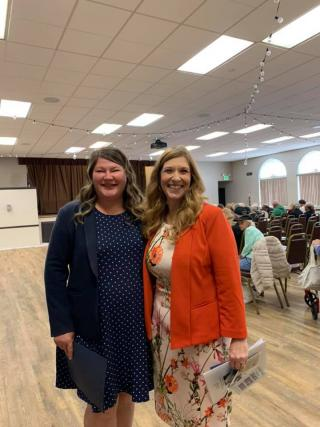 Asm. Tasha Boerner Horvath at Senior Scam Stopper seminar